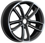 Réplica de la rueda de aleación de aluminio para automóvil para Audi Toyota