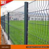 防御フェンスの鉄の金網