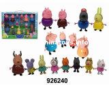 2017 재미있은 장난감 연약한 플라스틱 돼지 회전 관람차 (926236)