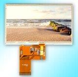 5 visualización de la pantalla táctil de la pulgada TFT LCD