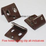 Clips à ressort de sofa de fer pour des meubles