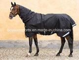 Couvertures lourdes de cheval de l'hiver de sellerie d'assemblée de polyester