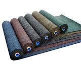 Varios tipos de suelo de caucho y el gimnasio alfombra, alfombra de exterior
