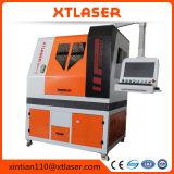 Tagliatrice rotonda del laser del metallo di prezzi 500W della tagliatrice del laser della fibra del tubo del tubo del gentiluomo di CNC