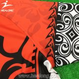 Qualité durable Healong Fabrication Dye Sublimation Maillot Rugby