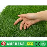 pavimenti di sguardo naturali dell'erba di altezza di 25mm e tappeto erboso artificiale con il prezzo incredibile