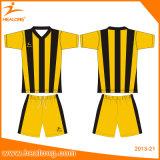 昇華サッカーのジャージーのユニフォームをくまなくHealongのスポーツ・ウェア