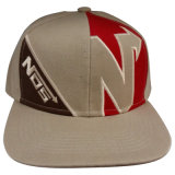 Ajuste personalizado gorra de béisbol con aplique Gjfp17169