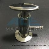 Válvula de amostra roscada de aço inoxidável sanitário (ACE-QYF-2F)