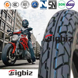 Sin cámara Cruz Negro País 2,75-18 neumático de la motocicleta