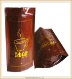 側面のガセットが付いている卸し売りさまざまなスタンドアップ式のジッパーのシールのクラフト紙のコーヒーバッグ