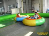 遊園地のための2つのシートUFOのバンパー・カーの乗車