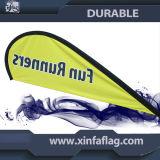 Bannière de drapeau extérieur et intérieur / Drapeau de plage personnalisé