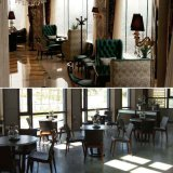 Meubles de restaurant d'hôtel d'étoile réglés (EMT-SKD07)