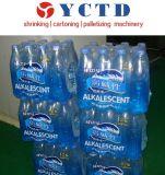 병에 넣은 물 (YCBS18)를 위한 자동적인 PE 필름 수축 감싸기 포장기