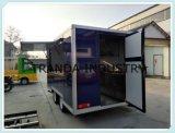 Передвижные трейлеры сливк Ce с туристом Van BBQ оборудования кухни бездымным