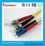 LC dúplex St/9/125 de fibra óptica Patch Cord