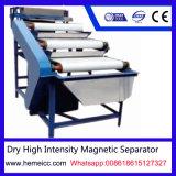 Separador de rolo magnético de alta intensidade seca para minério de manganês, quartzo