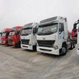 420HP Sinotruck HOWO A7 6X4 트랙터 트럭 무거운 트레일러 트랙터