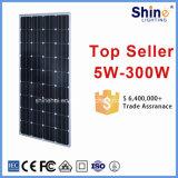 TUV&Ceの証明書が付いている150W 200W 250W 300W 310W 320Wのモノクリスタル太陽電池パネル