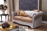 Sofá confortável da tela da alta qualidade