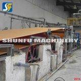 Carton ondulé réutilisé de Papier d'emballage de papier cartonné de cambouis faisant le prix usine de machine