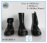 Различный черный резиновый ботинок, резиновый ботинок дождя, черные Overshoes