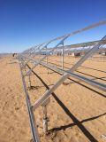 Cadre solaire Gavanized haute norme Q235B pour une centrale photovoltaïque de 20 mv
