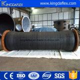 Boyau de dragage en caoutchouc de grand diamètre pour le sable/transport de boue/eau