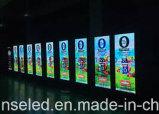 Afficheur LED polychrome DEL d'affiche d'intérieur de P4 pour la publicité