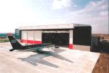 Estructura de acero de la luz de alta calidad de mantenimiento de hangar de aviones de almacén (KXD-SCD152).