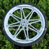 """rotella di bicicletta di plastica 12 """" 16 """" 20 """" con la gomma libera piana"""