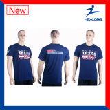 남자를 위한 주문 스포츠 착용 승화 t-셔츠