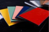 пользы панели покрытия PE 3mm украшение алюминиевой составной крытое