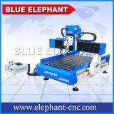 Router Desktop do CNC do elefante azul, router 3D do CNC 6090, mini máquina de estaca do CNC para anunciar