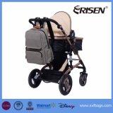 Saco destacável do tecido do organizador do carrinho de criança da trouxa do bebê