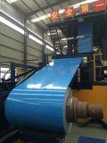 Les bobines PPGI de PPGI ont enduit la feuille d'une première couche de peinture en acier galvanisée de bobine pour le matériau de construction de bâtiments, en Chine