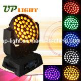 Testa mobile di illuminazione 36PCS*18W Rgbwauv 6in1 della fase LED