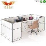 Poste de travail en bois moderne de bureau pour des meubles de bureau