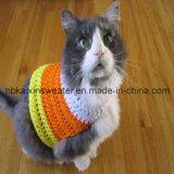 Котенок, полосатый спицы свитер (KX-D14)