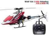 rtf di 3D Flybarless RC Helicopter Wasp X3s 6CH 2.4G 3 Axis Gyro