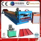 máquina de formación de rodillo de acero de color