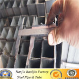 Frío que dobla el tubo de acero hueco rectangular