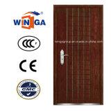 Ceeuropの市場の機密保護鋼鉄MDFの木製のベニヤの装甲ドア(W-A1)