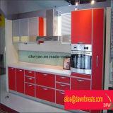 MordernデザインPVC MDFの食器棚