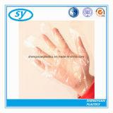 Wegwerfpolyäthylen-Handschuhe für Nahrung