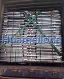 Stapeln des Draht-Rahmens mit hölzernem Ladeplatten-Maschendraht-Behälter
