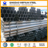 Caliente de ms Hollow Section de China sumergido galvanizado alrededor del tubo