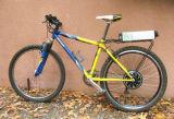 Motor elétrico esperto da bicicleta 200W-500W da torta 5 com Ce, controlador programável interno