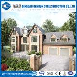 現代デザインプレハブの軽い鋼鉄別荘